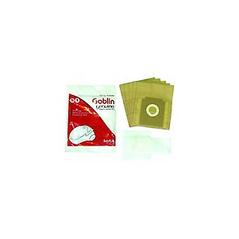 Goblin stofzuiger papieren zak en Filter Kit