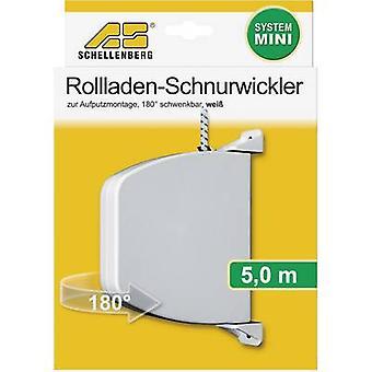 Schellenberg 50506 Cord winder (surface-mount) Compatible with Schellenberg Mini
