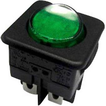 SCI Toggle switch R13-104B-01 B/G 250 V AC 10 A 1 x Off/On latch 1 pc(s)