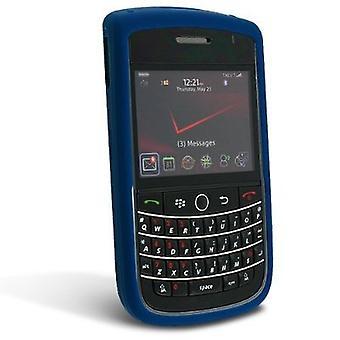 BlackBerry סיור 9630 מקרה סיליקון-כחול כהה
