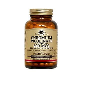 Solgar Chromium Picolinate 500 mcg Vegetable Capsules 60 Ct