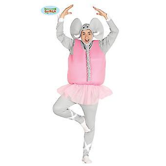 Ballet de elefante bailarina baile de disfraces de hombres pachyderm JGA