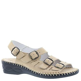 David Tate Womens Audrey Leather Open Toe Casual Strappy Sandals