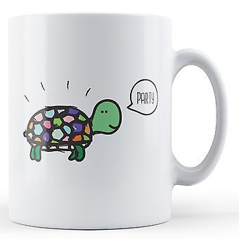 Party Turtle - Printed Mug