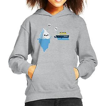 Titanic Pierre papier ciseaux Hooded Sweatshirt enfant