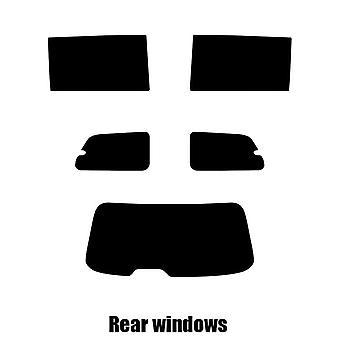 Pre cut window tint - Lancia Voyager - 2011 to 2016 - Rear windows
