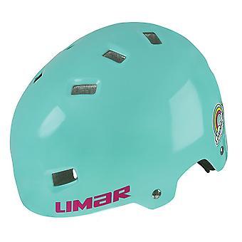 Limar 306 children / youth bike helmet / / seawater rainbow