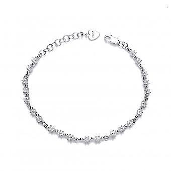 Bracciale di stelle CZ argento francese Cavendish e Mini