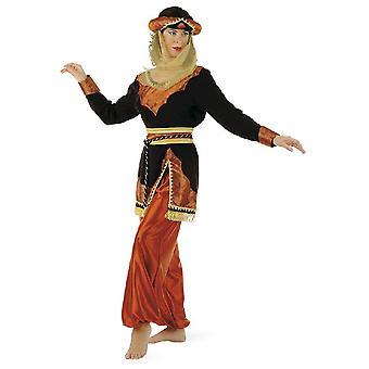 Noche de disfraces princesa 1001 Maurin Caldera señora traje de las señoras de Jennie Sheikh