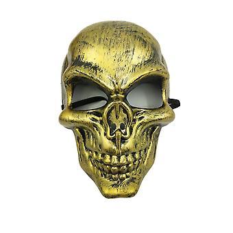 Lebka purge maska Maškaráda strana party Halloween-žltá