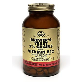 Solgar Brewer's Yeast 7 1/2 Grains Tablets Vitamin B12 250ct