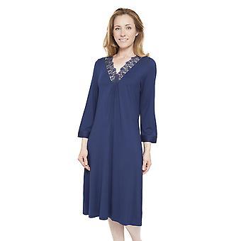 Cyberjammies 1298 naisten Nora Rose Adele sininen yö puku oloasut yöpaita