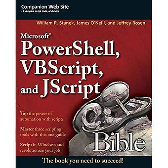 Microsoft PowerShell, VBScript et JScript Bible