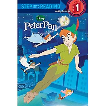 Peter Pan steg in i läsning (Disney Peter Pan)