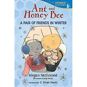 Formica e ape del miele: una coppia di amici in inverno (Candlewick Sparks)