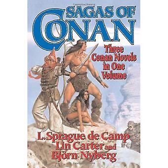 Sagas von Conan: Conan der Schwertkämpfer/Conan Befreier/Conan und der Spirder Gott (Conan)