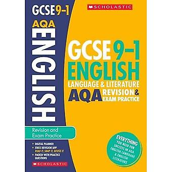 English Language and Literature Revision and Exam Practice Book for AQA - GCSE Grades 9-1