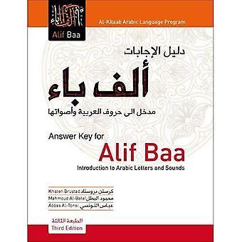 Clave de respuestas a Alif Baa: Introducción a letras árabes y los sonidos (programa de lengua árabe Al-Kitaab)