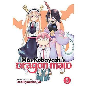 Miss Kobayashi's Dragon piga Vol. 3
