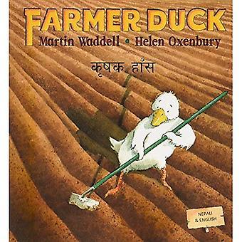 Farmer Duck in Nepali and English: 1
