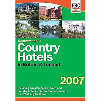 Recommended Country Hotels of Britain 2007