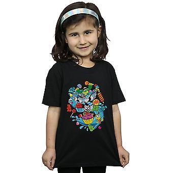 DC Comics ragazze Teen Titans Go Candy Mania t-shirt