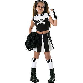 Skull Cheerleader Child Costume