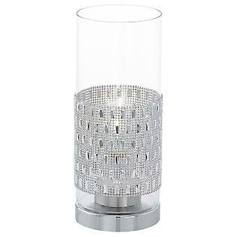 Eglo - Torvisco 1 Leuchttisch Lampe Chrom Finish EG94619