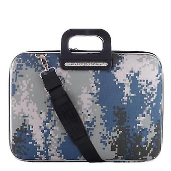 The AVIANO Bombata Briefcase by Fabio Guidoni Messenger Bag - 13 / Gray