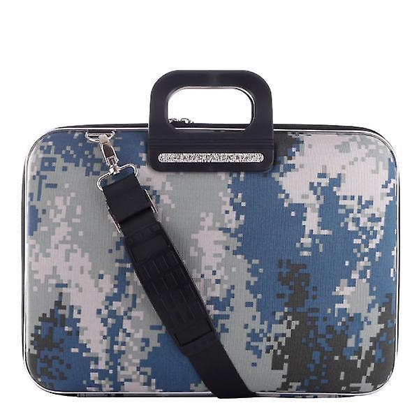 The AVIANO Bombata Briefcase by Fabio Guidoni Messenger Bag - 13 / Gray