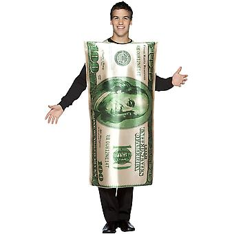 100 $ Bill Adult Costume