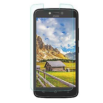 Motorola Moto C PLUS gehärtetem Glas Bildschirmschutz Einzelhandel