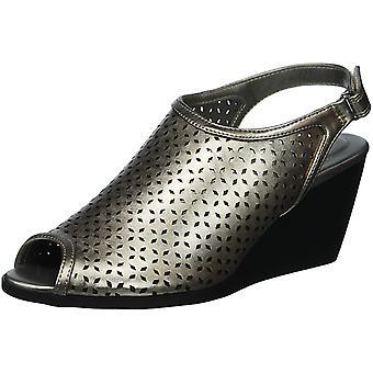 Bandolino kvinners Apela Peep Toe Casual Slingback sandaler