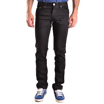 John Richmond Ezbc082106 Men's Black Cotton Jeans