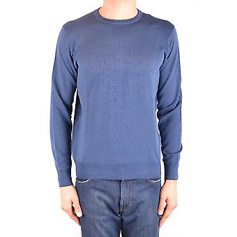 Altea Ezbc048100 Men's Blue Cotton Sweater