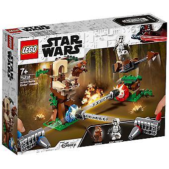 LEGO 75238 Star Wars toiminta Battle Endor hyökkäys
