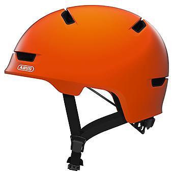 Φύλλο ξύστρα 3,0 ποδήλατο κράνος/σήμα πορτοκαλί