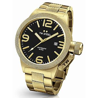 TW Steel Canteen Cb96 Bracelet automatic mens watch 50 mm Gold Demo