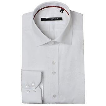 Guia Londres Paisley rebanho imprimir Mens camisa