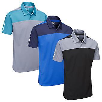 Stuburt Mens Sport Tech Leyburn Moisture Wicking Golf Polo Shirt