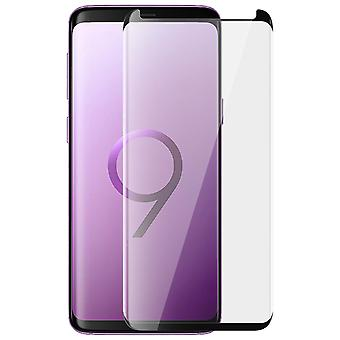 Galaxy S9 Plus Tempered Glass Shockproof Case Compatible X-One Black
