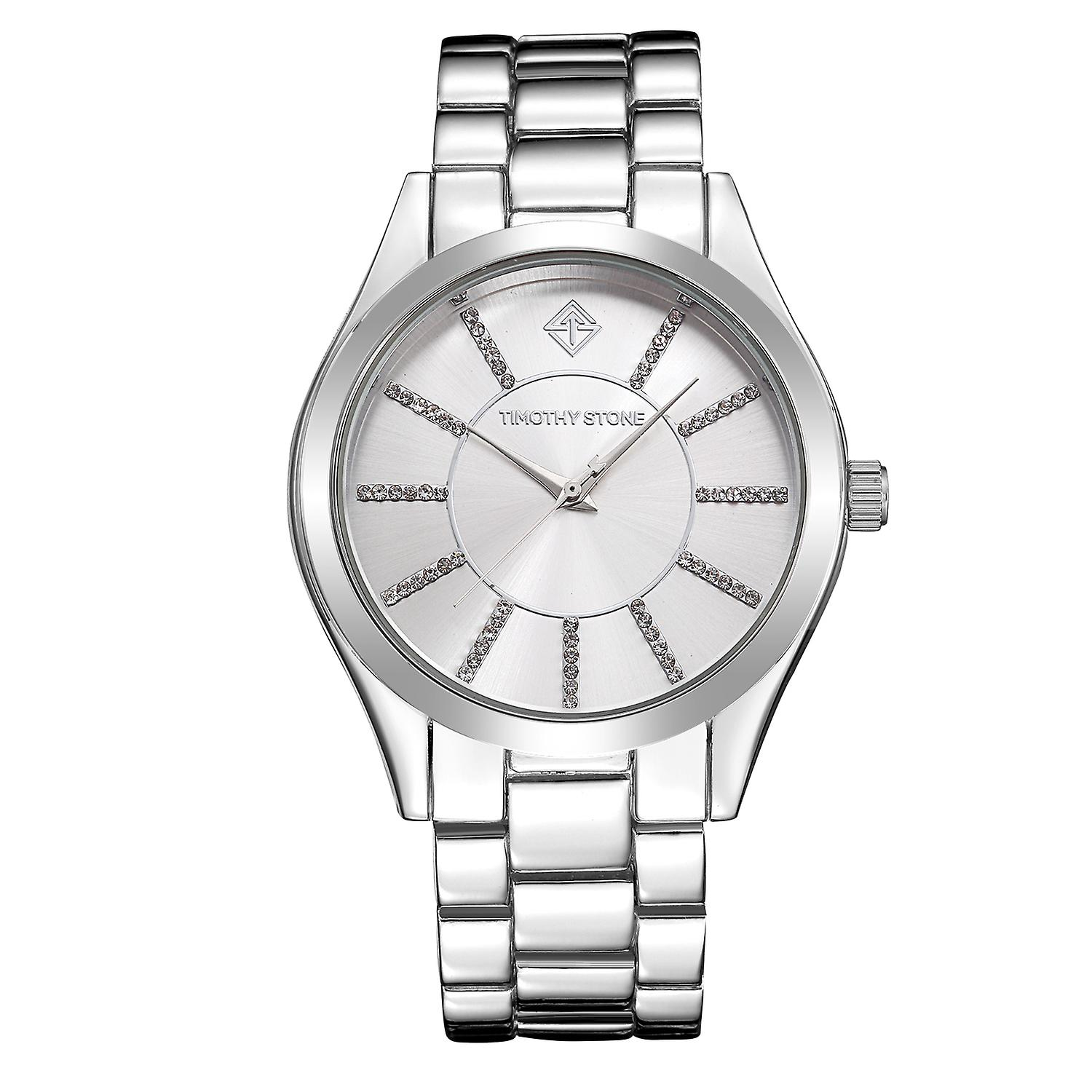 Timothy Stone Women's CHARME-STAINLESS Silver-Tone Watch