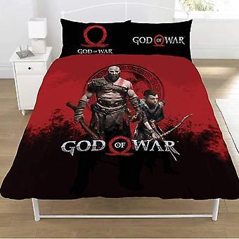 God Of War Warriors Double Duvet Set
