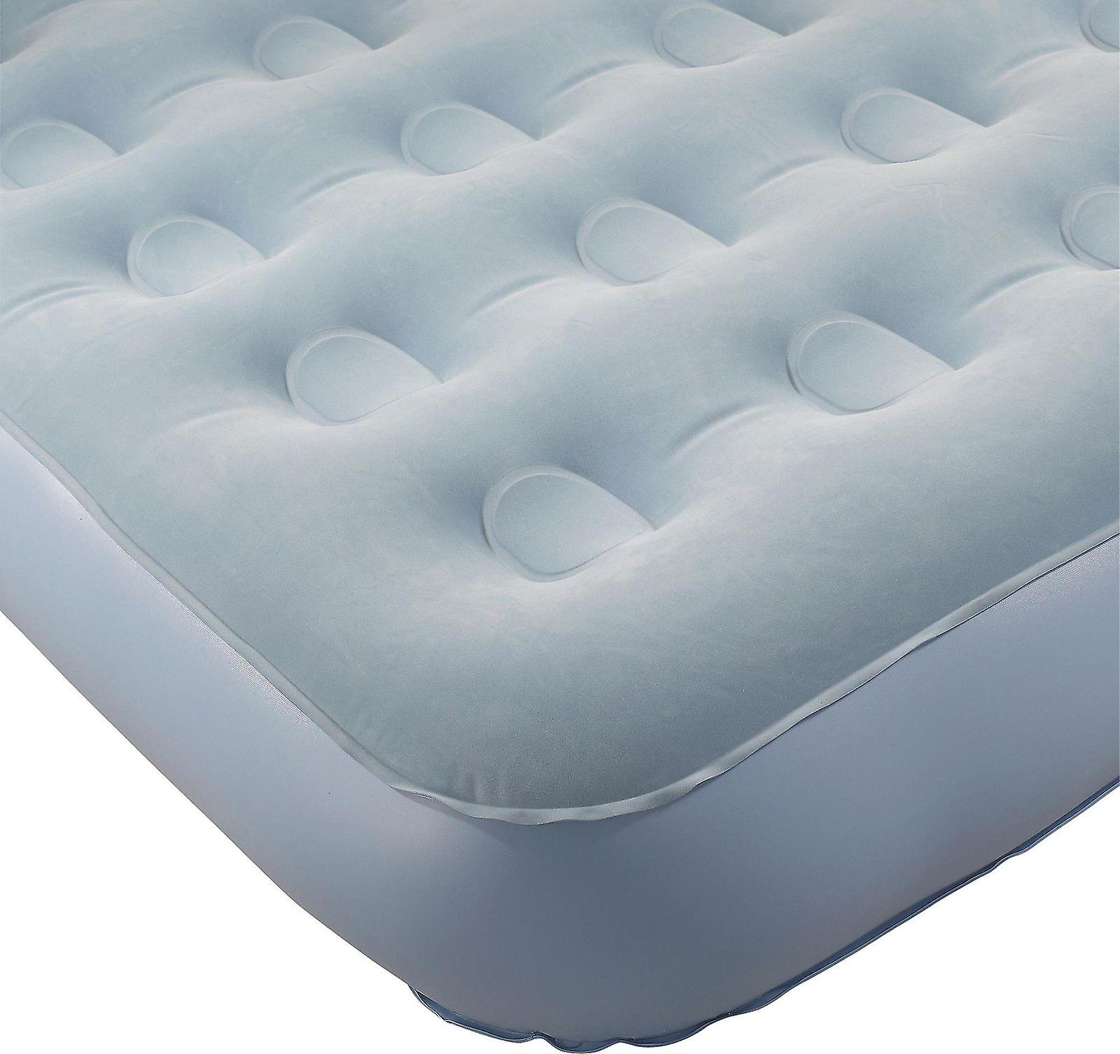 Aerobed Single Airbed Self Inflating Built in Electric Pump 1 Year Guarantee