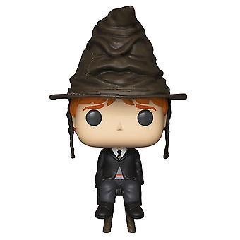هاري بوتر رون ويلي مع فرز قبعة الولايات المتحدة البوب! الفينيل