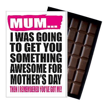 Morsom mor ' s dag gave eske sjokolade Present frekk gratulasjonskort for mamma mamma Mumy MIYF125