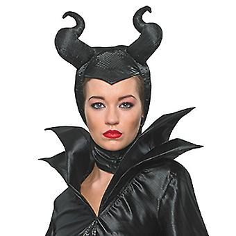 Maleficent cabeça Beckung chifres para mulheres