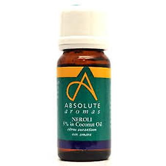 Absolute Aromas, Neroli 5% Oil, 10ml