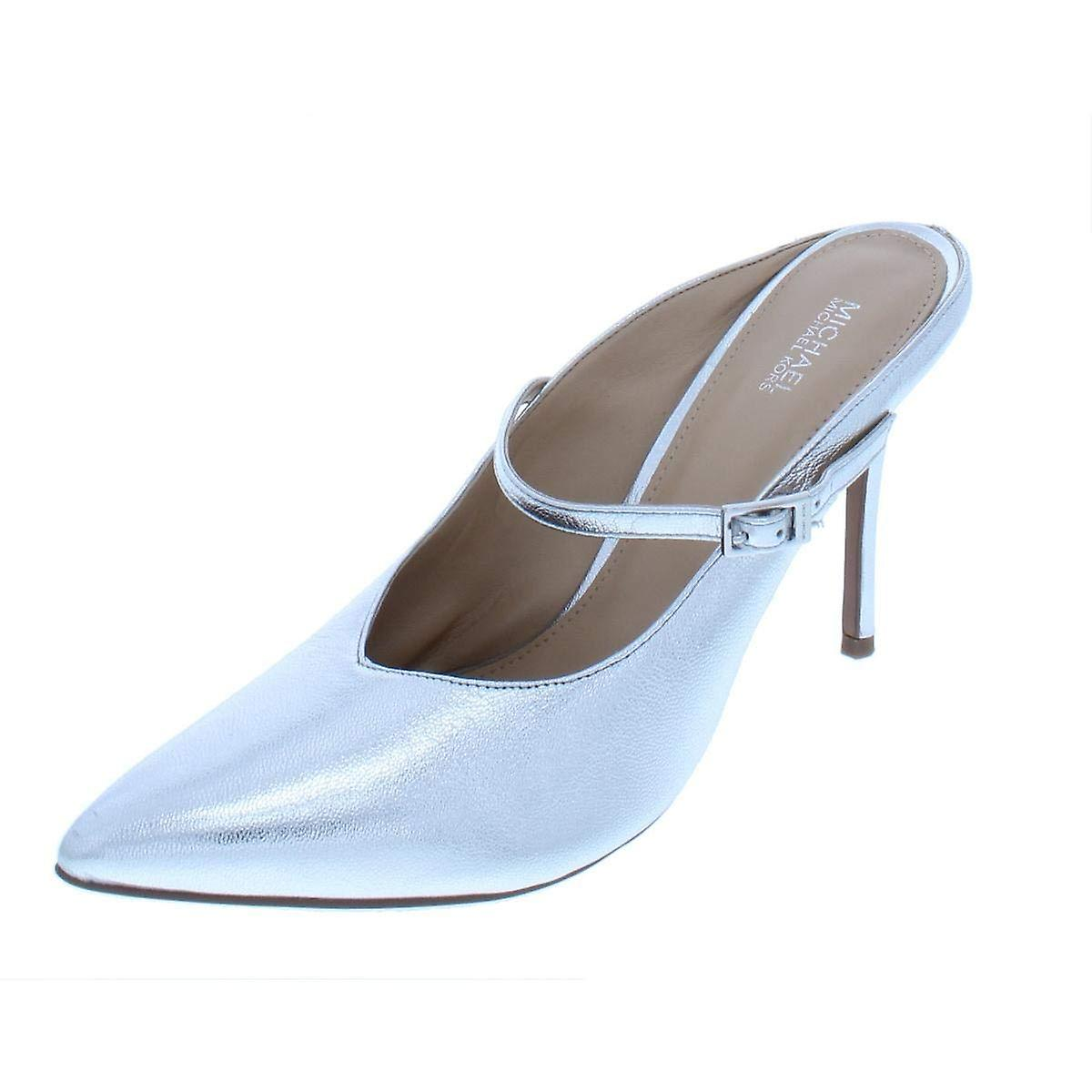 Michael Michael Kors Womens Tiegan Leather Pointed Toe Formal Slide Sandals 3gvDZ