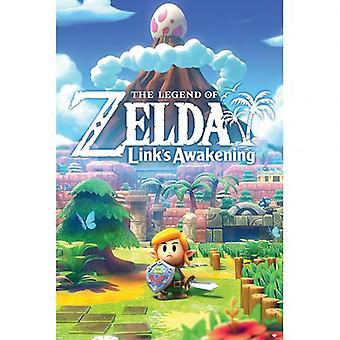 The Legend Of Zelda Poster Links Awakening 123